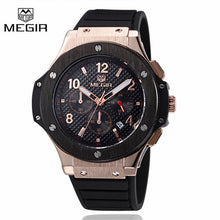 Megir Luxury Chronograph Quartz Watch