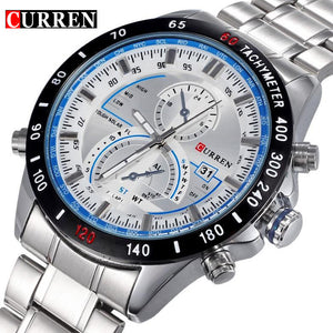 Curren Dashboard Dail Stainless Steel Watch