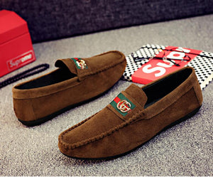 GG Fashion Suede Loafers