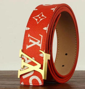 Sup LV Leather Belts