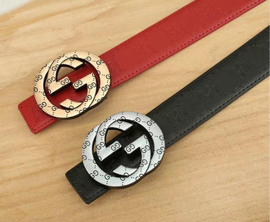 GG Print Buckle Belt