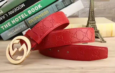 Unique Color GG Design Belts