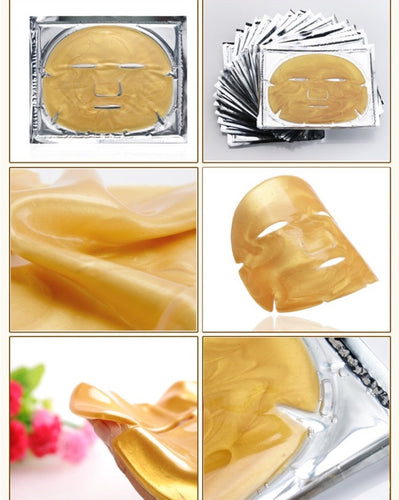 Golden glow mask 24k