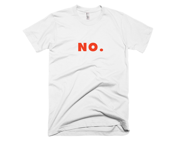 NO. Men's T-Shirt