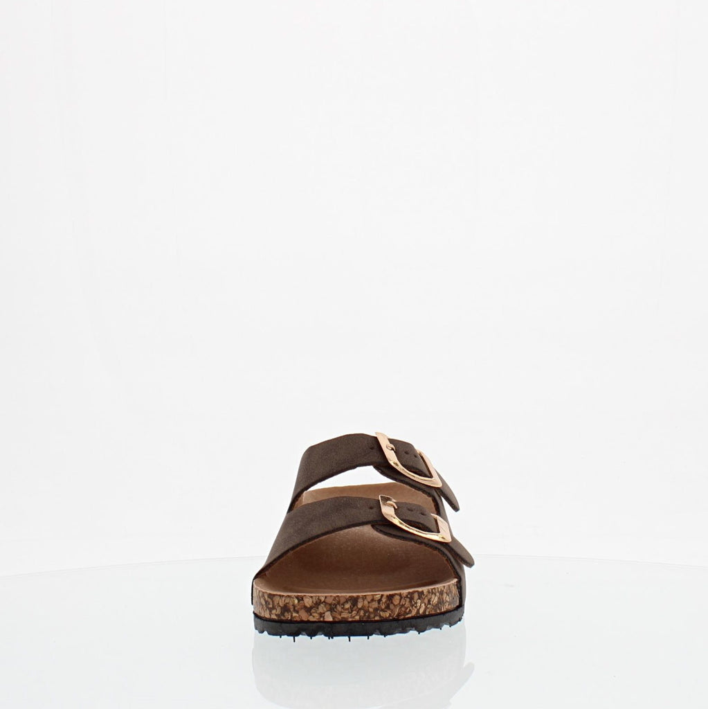 2Buckle Kids Casual Sandal (MOCHA)