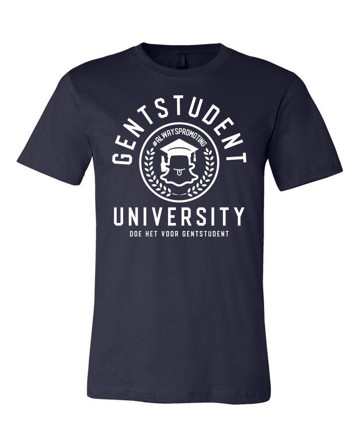 Navy Blue Gentstudent Limited Edition Zomer shirtje