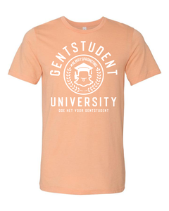 Peach Gentstudent Limited Edition Zomer shirtje