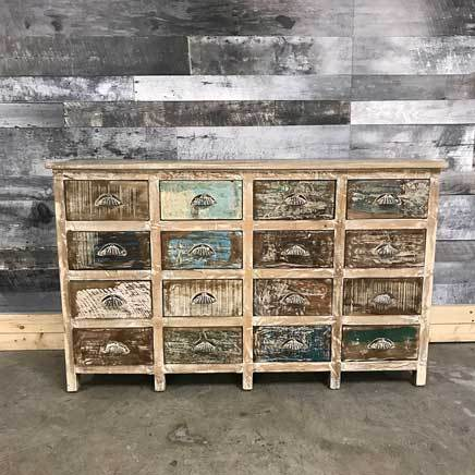 Riverside 16 drawer dresser