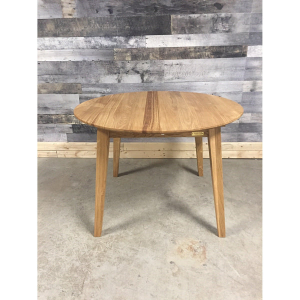 "42"" - 63"" Genova Solid Oak Extendable Dining Table"
