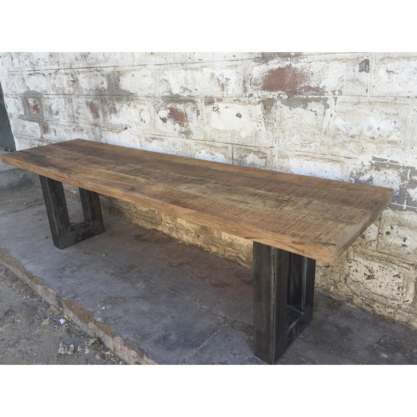 "63"" Wright Rough Industrial Mango Bench"