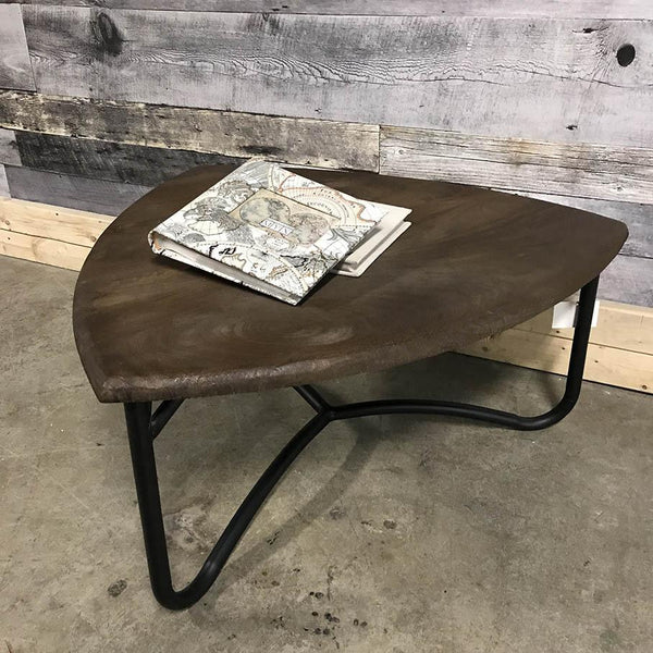 Andaman Teardrop Industrial mango wood coffee table