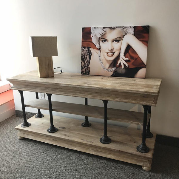 Savannah solid wood buffet - console - TV stand