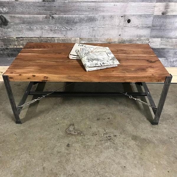Shop for acacia wood industrial coffee tables