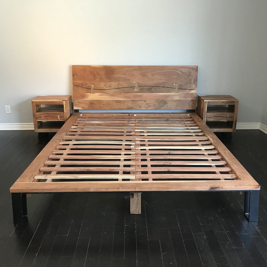 Jungle Acacia Freeform Bed Frame