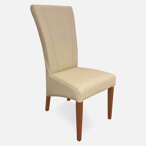 Sophie Tall back full grain 100% leather dining chair