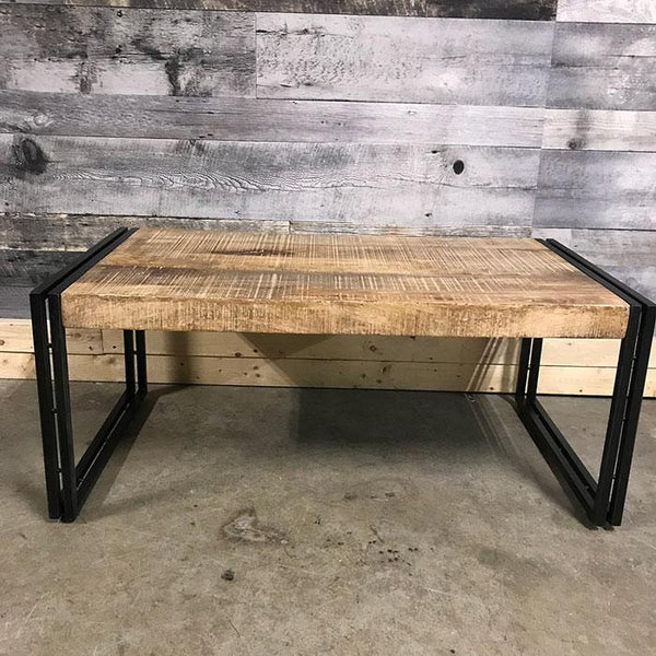 Machu Industrial rustic mango wood coffee table