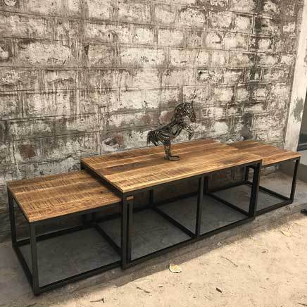 Nesting set of 3 Watson coffee tables
