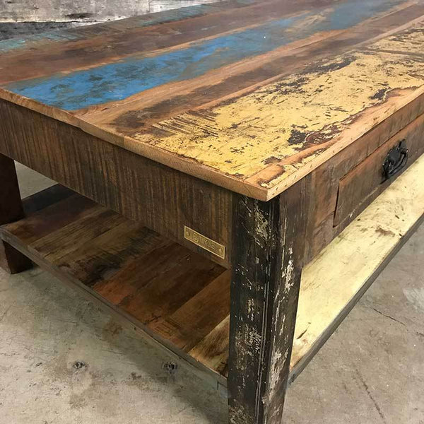 Sarah reclaimed wood coffee table