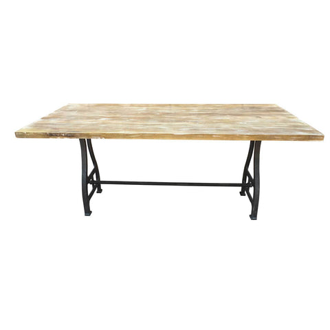 "82"" Savannah solid wood dining table"
