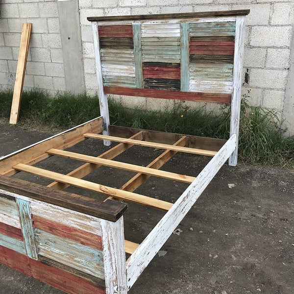 Tacoma rustic Mexican pine bed