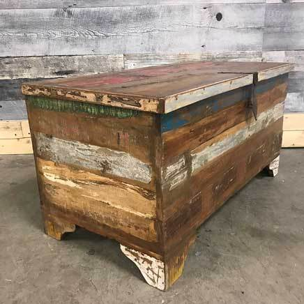 Rustic Reclaimed wood trunk