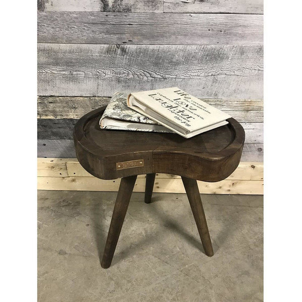 Martini Solid Wood Designer End Table