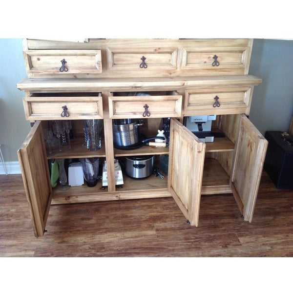 Medium Rustic China Hutch