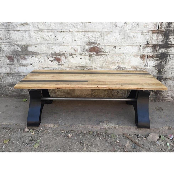 Neovintage Industrial Coffee Table 60""