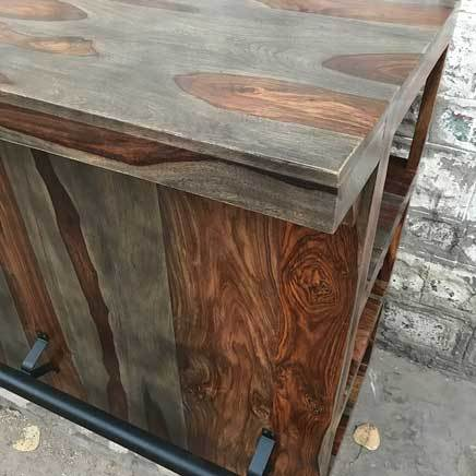 Zen Grey Rosewood home bar kitchen island