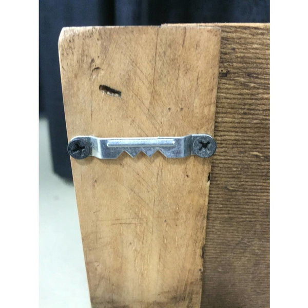 Small Rustic Pine Buckle Holder