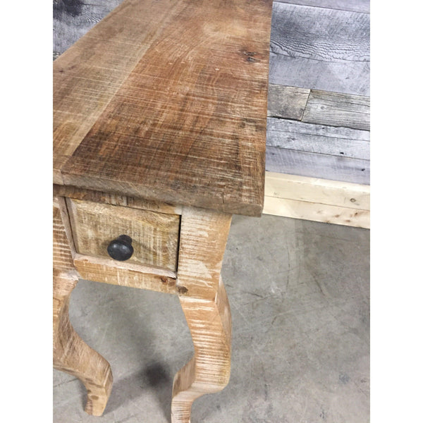 Tennessee Solid Wood Rustic End Table