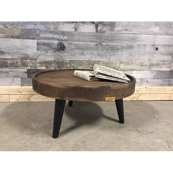 Urban Circular Mango Wood Coffee Table