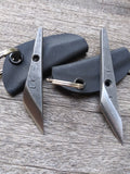 Lifer Knives Foba-Dashi in CPM154 Stainless with Kydex Keyring Sheath