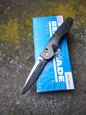 Benchmade 770 Osbourne 1st Production #205 Carbon Fiber/154CM