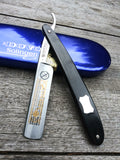 Dovo Carbon Steel Straight Razor with Wood Handle