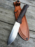 Benchmade 15002 Saddle Mountain Skinner Knife Wood Hunting Knife