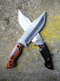 Valavian Edge Craft Camp Bowie 1095 High Carbon Steel with Carbon Fiber Scales