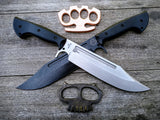 Work Tuff Gear Puzon Wilderness Bowie with Black Finish