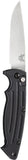 Benchmade 2551 Mini-Reflex Automatic Knife Aluminum Scales and Satin Plain Edge 154CM Blade