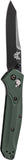 Benchmade 940BK Osborne AXIS Lock Knife Green Black Plain Edge
