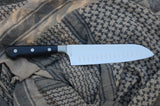 "Cooking Pleasures 7"" Forged Fluted Santoku"
