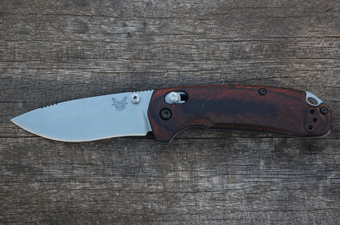 Benchmade 15031-2 North Fork AXIS Lock Knife Wood Folder