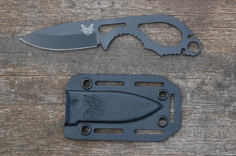 Benchmade 101 Follow-up Skeletonized Fixed Blade Neck Knife in S30V Stainless