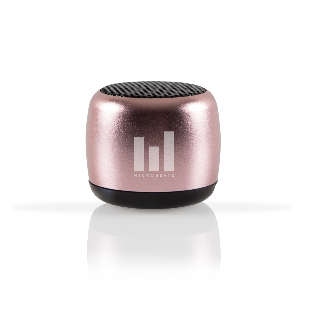 MICROBEATZ® Small Rose Gold Portable Wireless Speaker