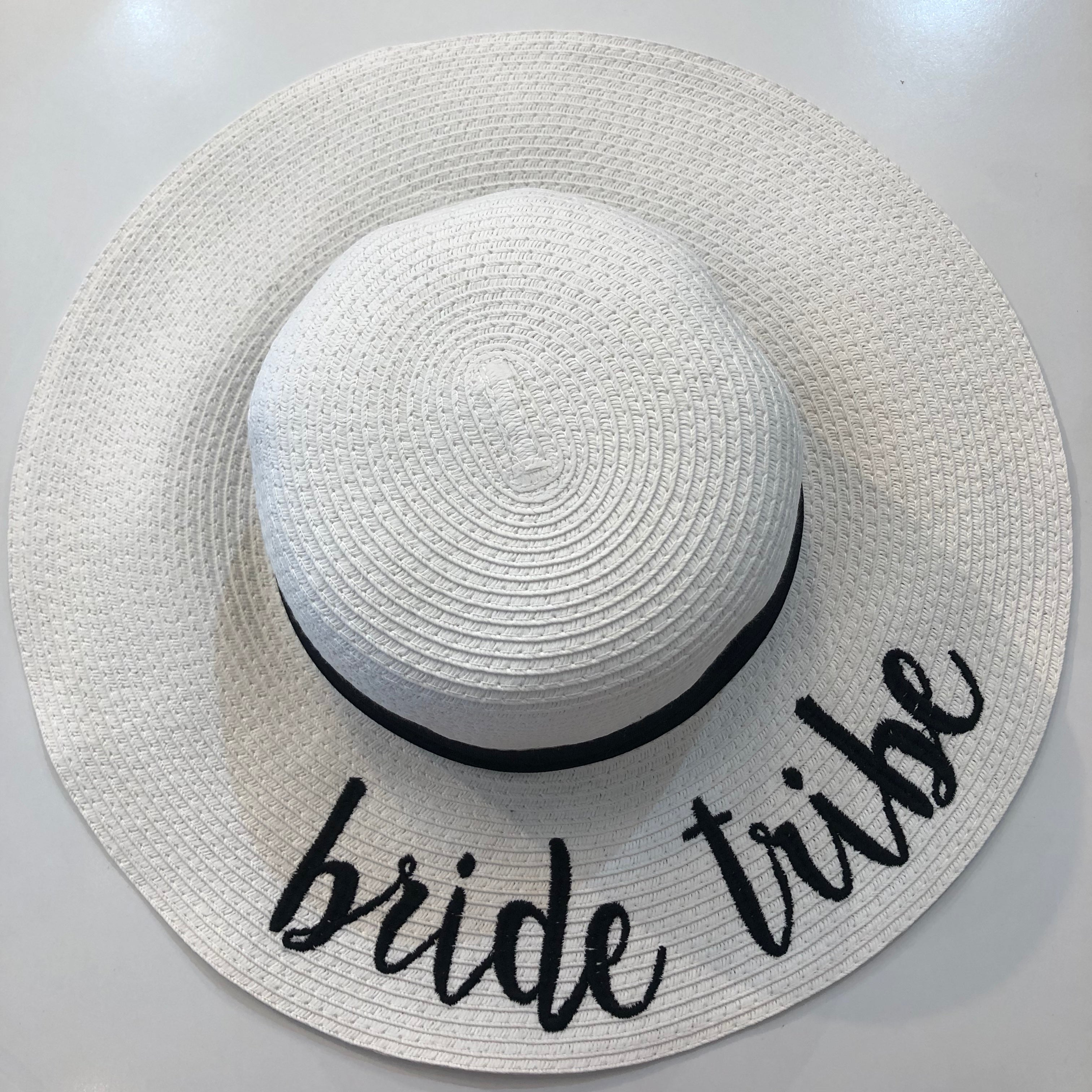 Bride Tribe Straw Hat