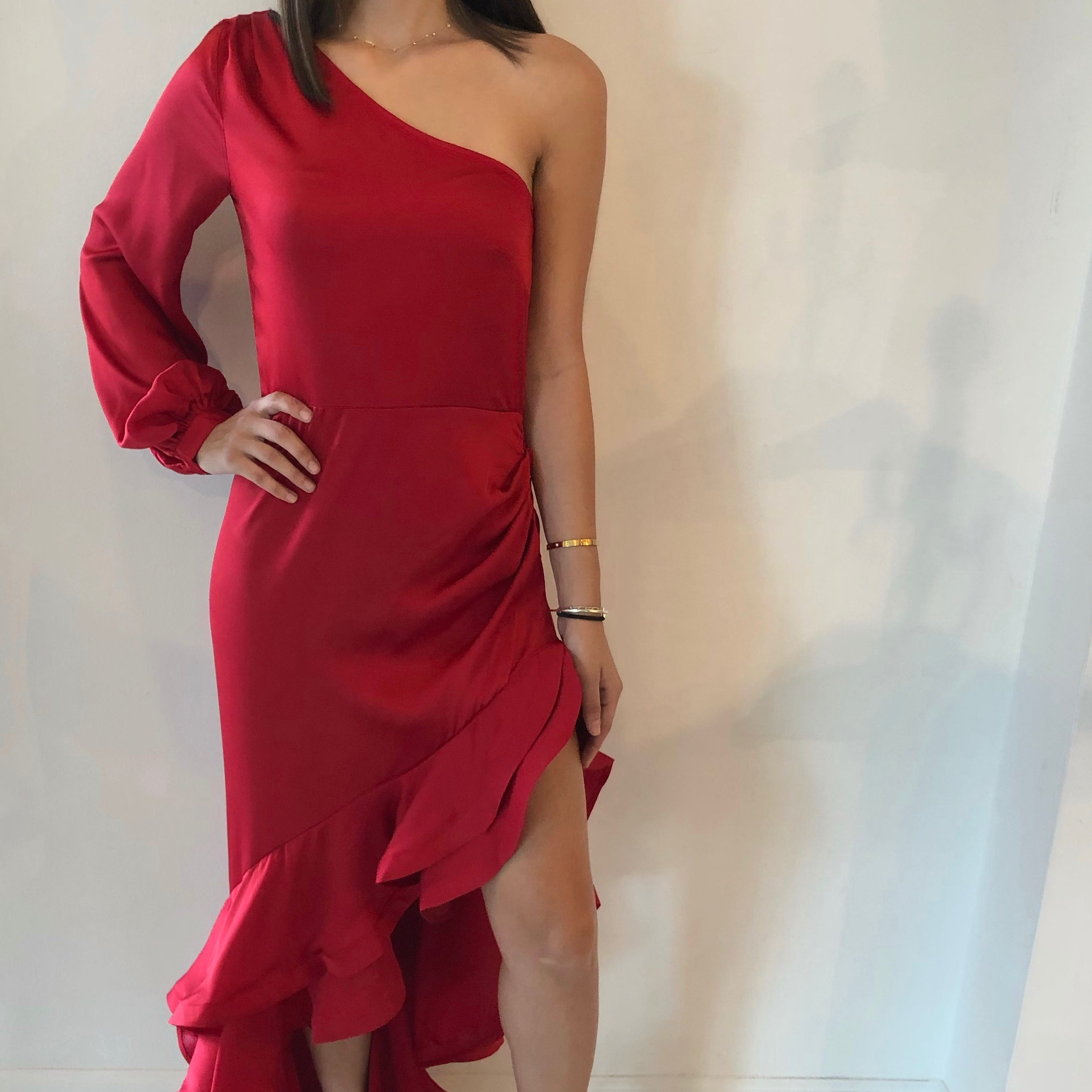 Red Maxi Gown