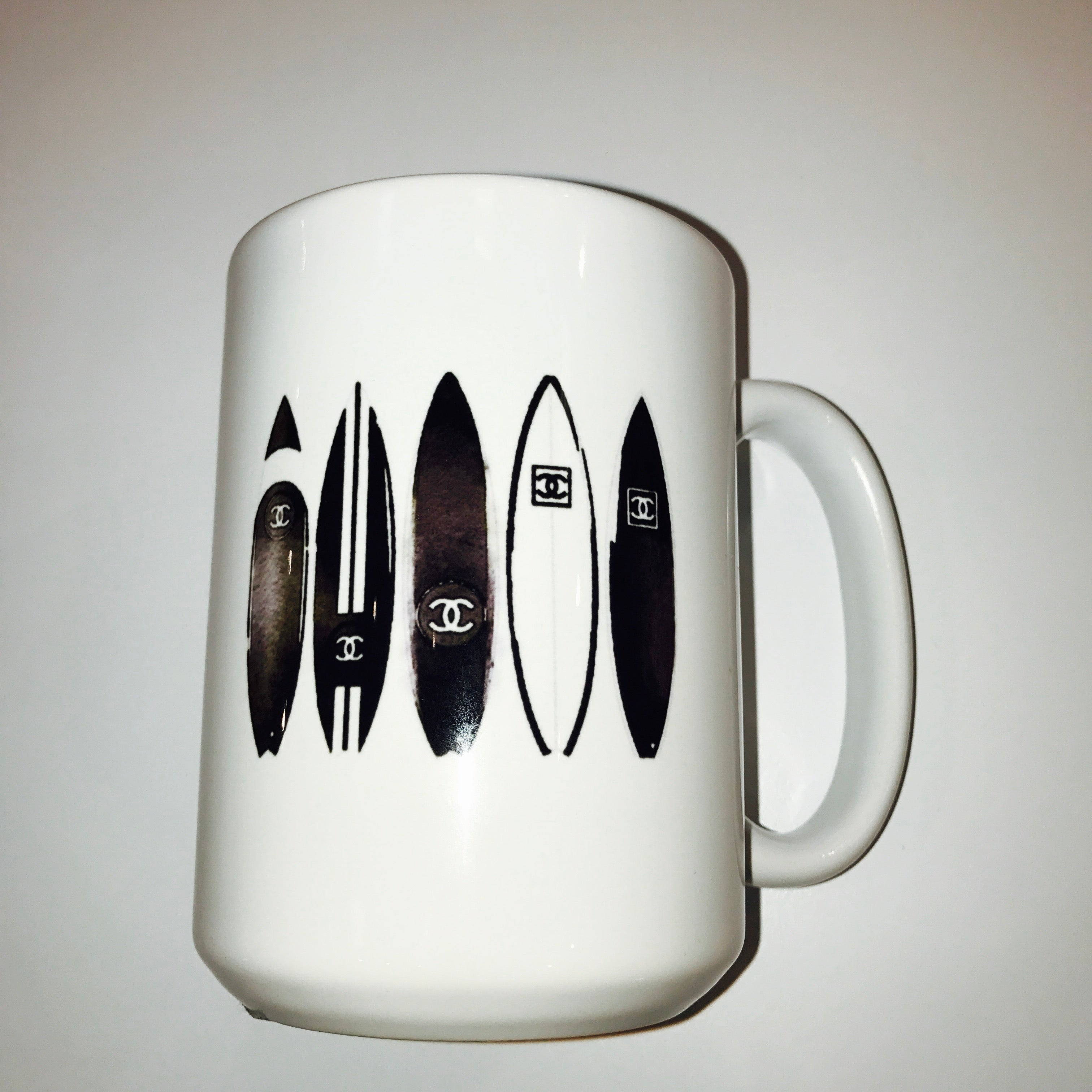 Chanel Surfboards Mug