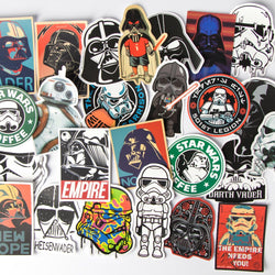 25 Awesome Star Wars waterpoof stickers
