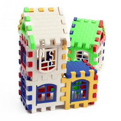 House Building Blocks Educational Toy