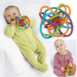 Fun Little Loud Bell Ball Baby toy